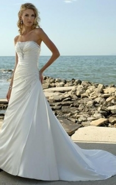 Sweetheart Wedding Gowns & Dresses | Strapless Bridal Dresses   June With Strapless Wedding Dresses