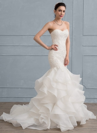 Luxury Mermaid Wedding Dress df9