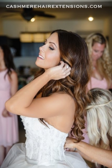 Types Of Hair Extensions For Your Wedding Day   Hair World Magazine Throughout Elegant Hair Extensions For Wedding Dt3