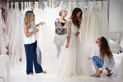 Wedding Dress Shopping Tips From Show Me Your Mumu   100 Layer Cake Intended For Wedding Dress Shopping