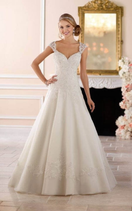 Wedding Dresses | Keyhole Back Princess Wedding Dress | Stella York Pertaining To Princess Style Wedding Dresses