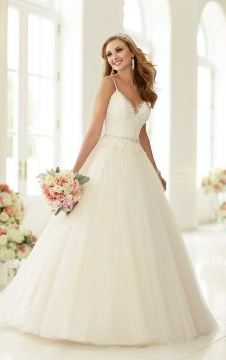 Beautiful Princess Style Wedding Dresses fg8