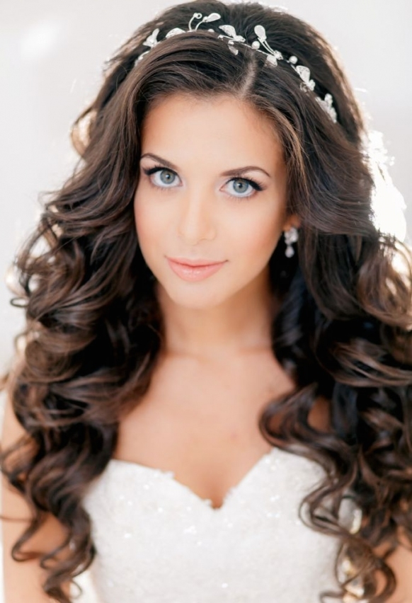 Wedding Hairstyles For Long Hair – Dipped In Lace Intended For Beautiful Hairstyles For Long Hair Wedding Sf8