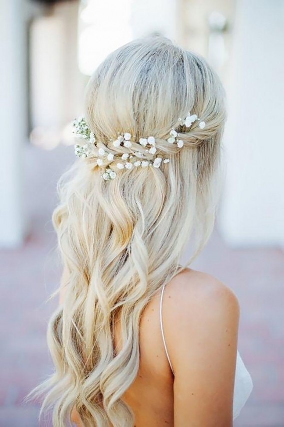 Wedding Hairstyles For Long Hair Half Up - Best Short Haircuts 2018 with Beautiful Hairstyles For Long Hair Wedding sf8
