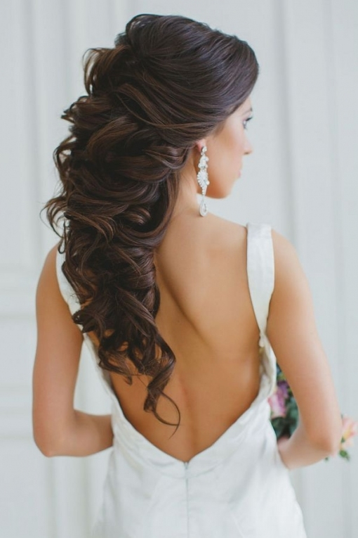 Wedding Hairstyles : Long Wedding Hairstyles And Bridal Updo for Beautiful Hairstyles For Long Hair Wedding sf8