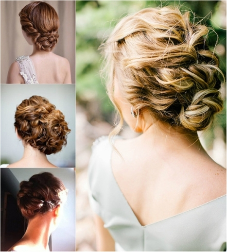 Wedding Hairstyles With Extensions | Best Wedding Hairs In New Wedding Updos For Medium Hair Fg8
