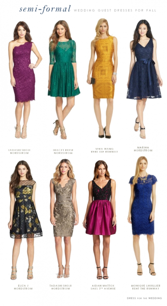 What To Wear To A Semi Formal Fall Wedding   Wedding Guest Dresses For Formal Wedding Dresses