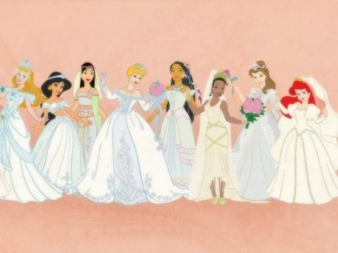 Beautiful Disney Princess Wedding Dresses jk4