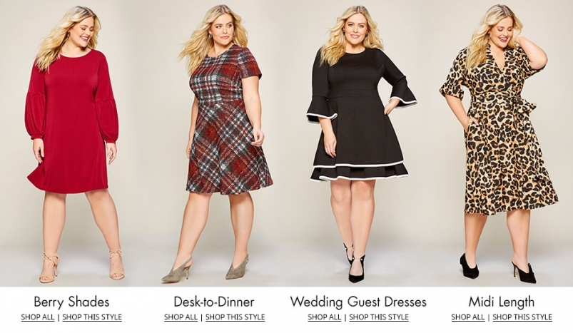 Women's Plus Size Dresses & Gowns | Dillards With Regard To Dillards Womens Dresses