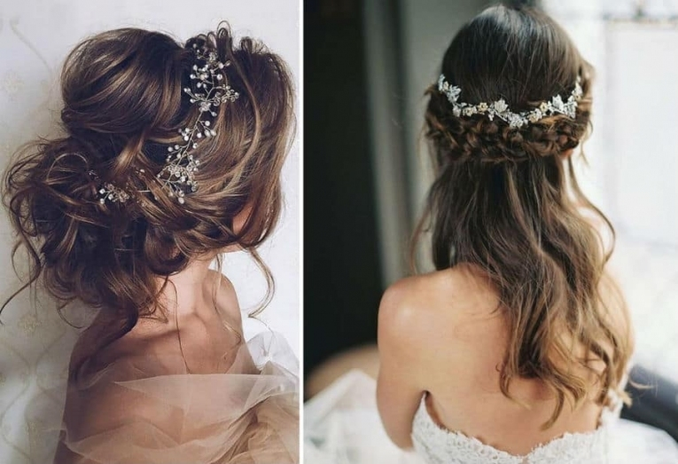 10 Beautiful And Elegant Wedding Hairstyles. – Trend Crown In Beautiful Elegant Wedding Hair Df9