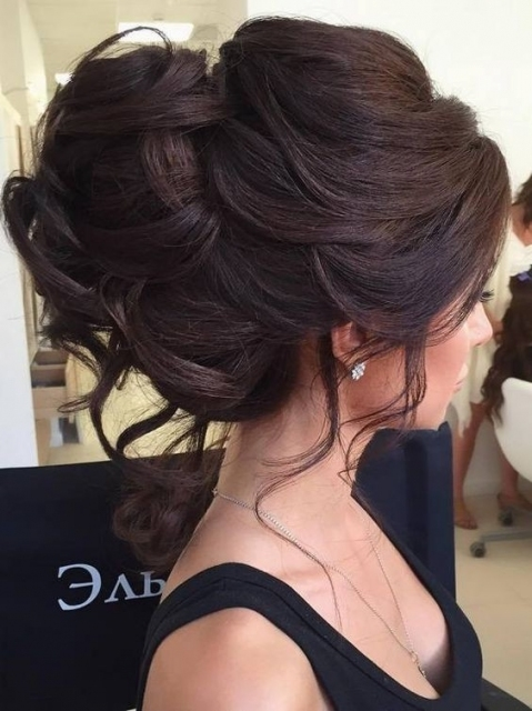 10 Beautiful Updo Hairstyles For Weddings: Classic Bride Hair Styles Inside Hair For Weddings