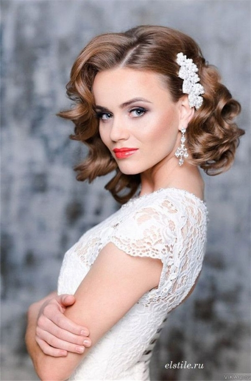 10 Fantastic Wedding Hairstyles For Short Hair Unique Wedding For Wedding Hair For Medium Hair
