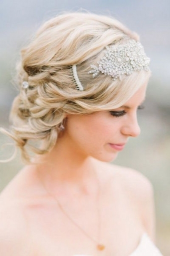 100 Greatest Wedding Hairstyle Ideas With Short Hair Within Lovely Short Hair Styles For Wedding Kc3