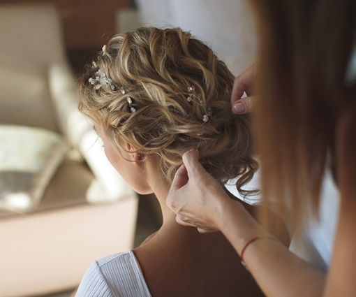 15 Wedding Hairstyle Trends That Are In For 2018 Intended For Hair Style For Weddings
