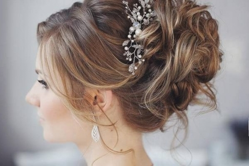 35 Wedding Hairstyles Discover Next Year S Top Trends For: Elegant Hair Style For Weddings Dt3 April 2019