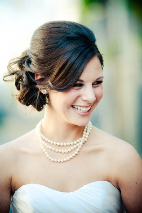 16 Beautifully Chic Wedding Hairstyles For Medium Hair   Pretty Designs Regarding Wedding Hair For Medium Hair