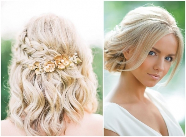 18 Stylish Wedding Hairstyles For Short Hair In Short Hair Styles For Wedding