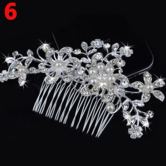 1Pc New Popular Professional Style Hair Pin Fashion Flower Hair Clip For New Wedding Hair Clips And Combs Ty4