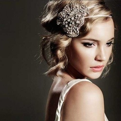 20 Accessories For Hair | Hairstyles & Haircuts 2016   2017 Pertaining To Vintage Wedding Hair Piece