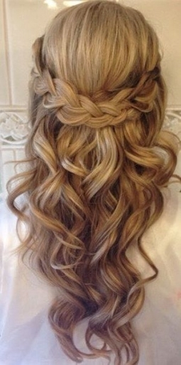 Elegant Half Up Hair Wedding fg8