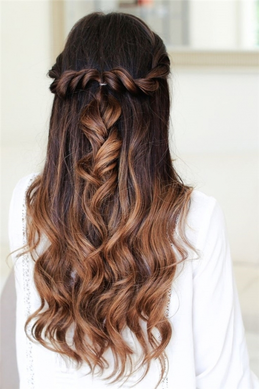 20 Awesome Half Up Half Down Wedding Hairstyle Ideas In Hair For Weddings