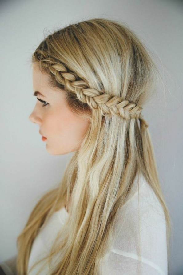 20 Awesome Half Up Half Down Wedding Hairstyle Ideas In Half Updos For Long Hair Wedding