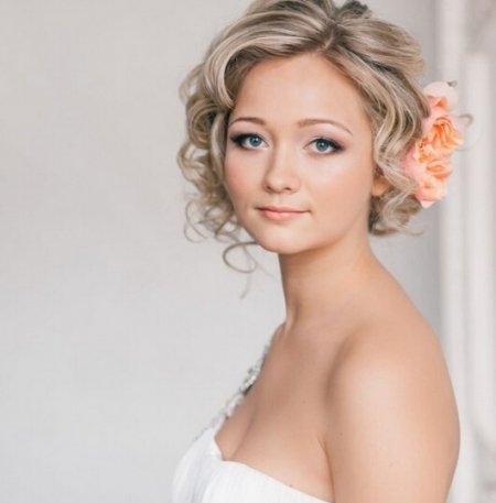 20 Best Wedding Hairstyles For Short Hair pertaining to Short Hair Styles For Wedding