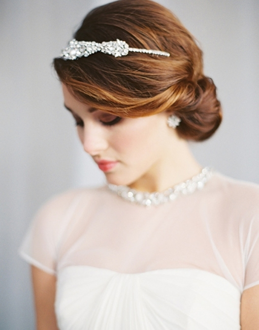 20 Creative And Beautiful Wedding Hairstyles For Long Hair Intended For Elegant Wedding Hair