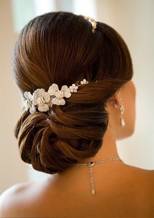 20 Most Elegant And Beautiful Wedding Hairstyles with Elegant Wedding Hair