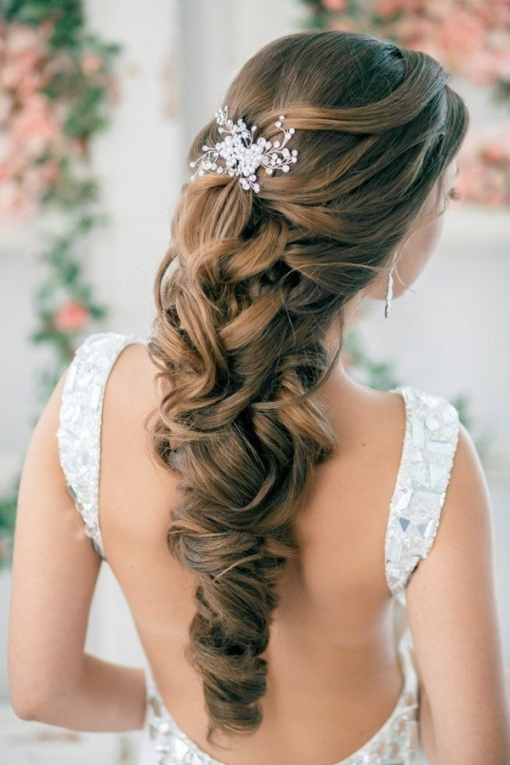 20 Most Elegant And Beautiful Wedding Hairstyles Within Beautiful Elegant Wedding Hair Df9