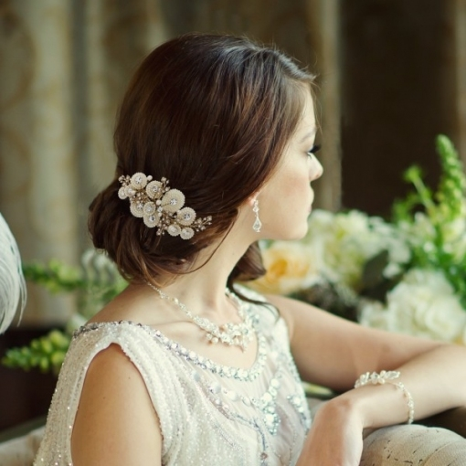 20 Stunning Sparkly Bridal Hair Accessories | Wedding Dj Hire for Wedding Hair Clips And Combs