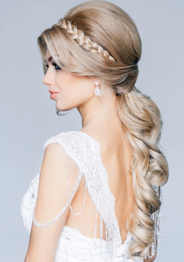 21 Classy And Elegant Wedding Hairstyles | Hair Styles | Pinterest In Elegant Wedding Hair