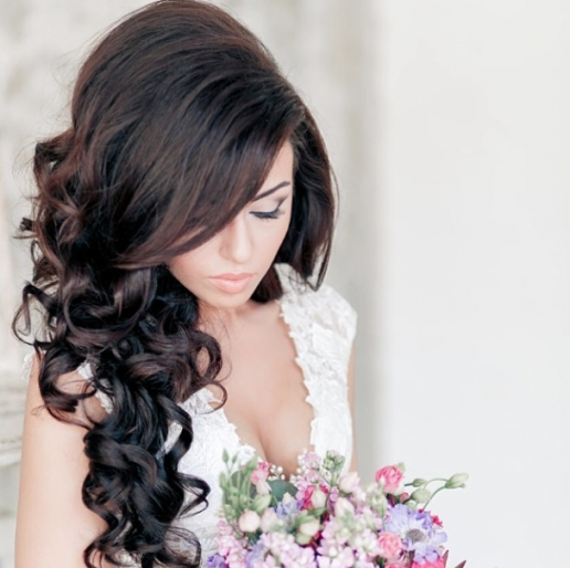 28 Prettiest Wedding Hairstyles   Modwedding With Wedding Hair Pics