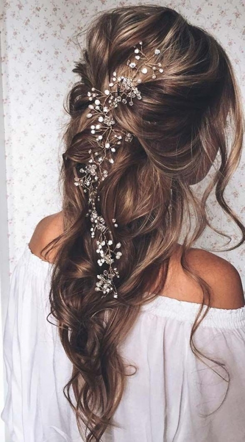 30 Beautiful Wedding Hairstyles – Romantic Bridal Hairstyle Ideas throughout Elegant Hair Style For Weddings dt3