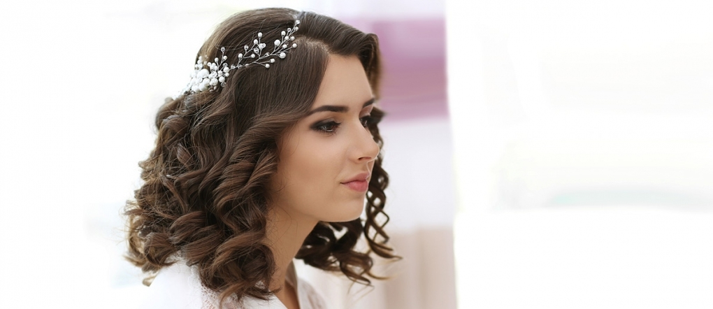 30 Captivating Wedding Hairstyles For Medium Length Hair Regarding Wedding Hair For Medium Hair