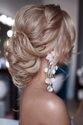 30 Elegant Wedding Hairstyles For Gentle Brides | Page 5 Of 11 Regarding Elegant Wedding Hair
