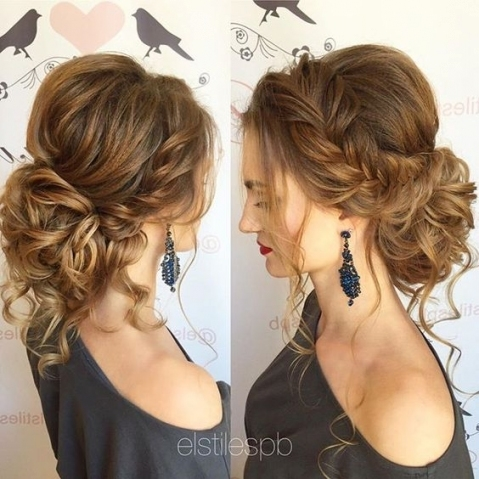 35 Romantic Wedding Updos For Medium Hair   Wedding Hairstyles 2019 Throughout Wedding Hair For Medium Hair