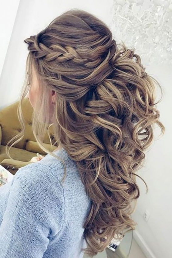 Beautiful Hairstyles For Long Hair Wedding Guest klp8