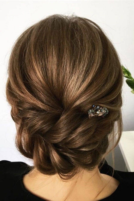 36 Wedding Hairstyles For Medium Hair | Wedding Updos | Pinterest For Luxury Wedding Hair For Medium Hair Dt3