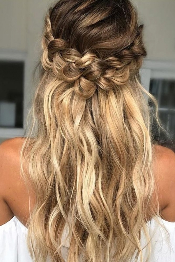 39 Braided Wedding Hair Ideas You Will Love | Pinterest | Frisur throughout Wedding Hair Pics