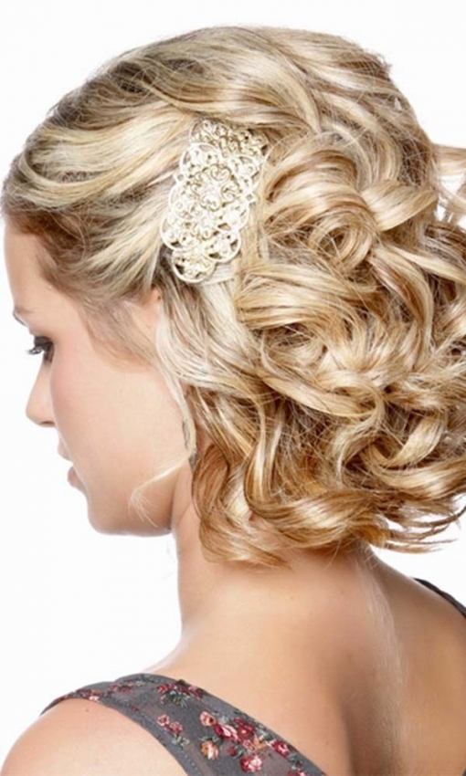45 Short Wedding Hairstyle Ideas So Good You'd Want To Cut Hair Throughout Short Hair Styles For Wedding