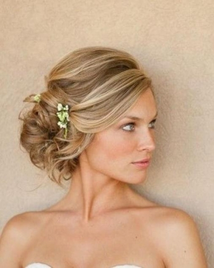 47 Glorious & Gorgeous Wedding Hairstyles For Medium Hair | Page 7 regarding Luxury Wedding Hair For Medium Hair dt3