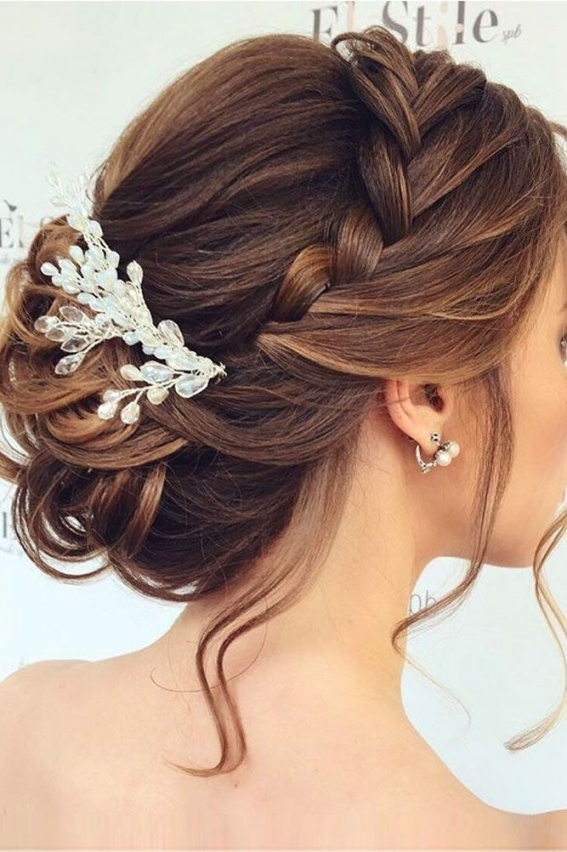 48 Mother Of The Bride Hairstyles | Braids | Pinterest | Wedding With Regard To Hair Style For Weddings
