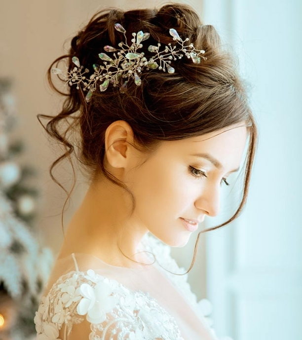 50 Best Hairstyles Of This Wedding Season With Regard To Elegant Hair Style For Weddings Dt3