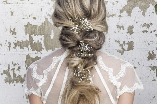50 Elegant Wedding Hairstyles From Vanessa Barney | | Hi Miss Puff With Beautiful Elegant Wedding Hair Df9