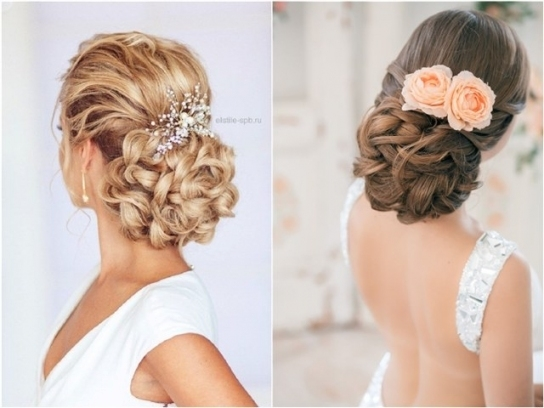 54 Best Elstile Wedding Hairstyles For 2019 | Deer Pearl Flowers Inside Inspirational Wedding Hair Pics Fg8