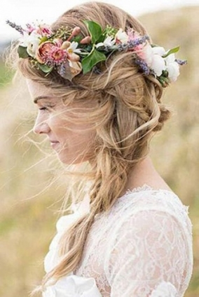 72 Best Wedding Hairstyles For Long Hair 2018 | Wedding Forward Pertaining To Hair For Weddings