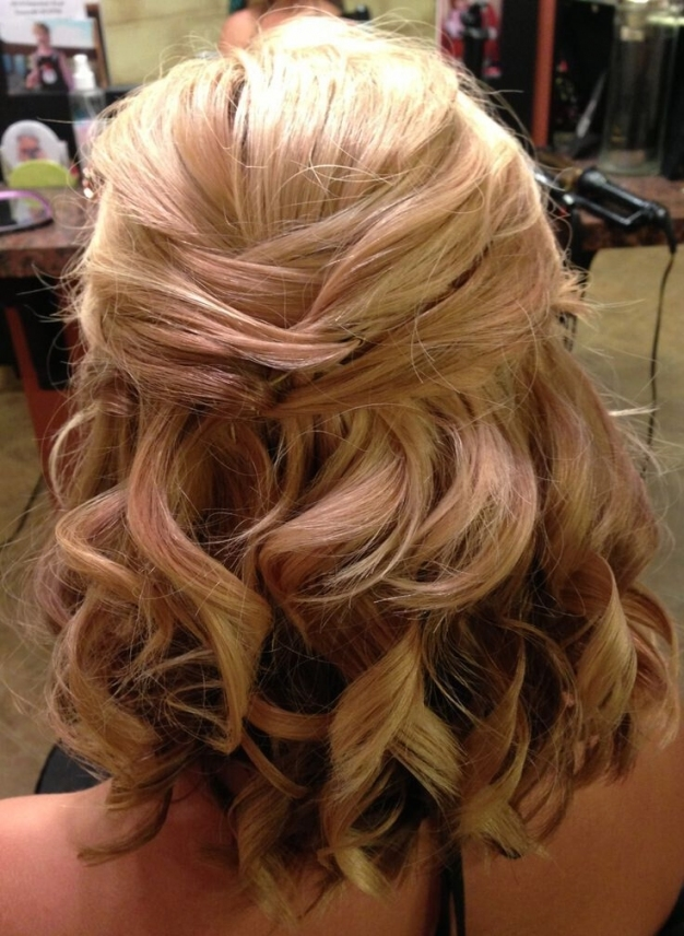 8 Wedding Hairstyle Ideas For Medium Hair   Popular Haircuts Inside Wedding Hair For Medium Hair