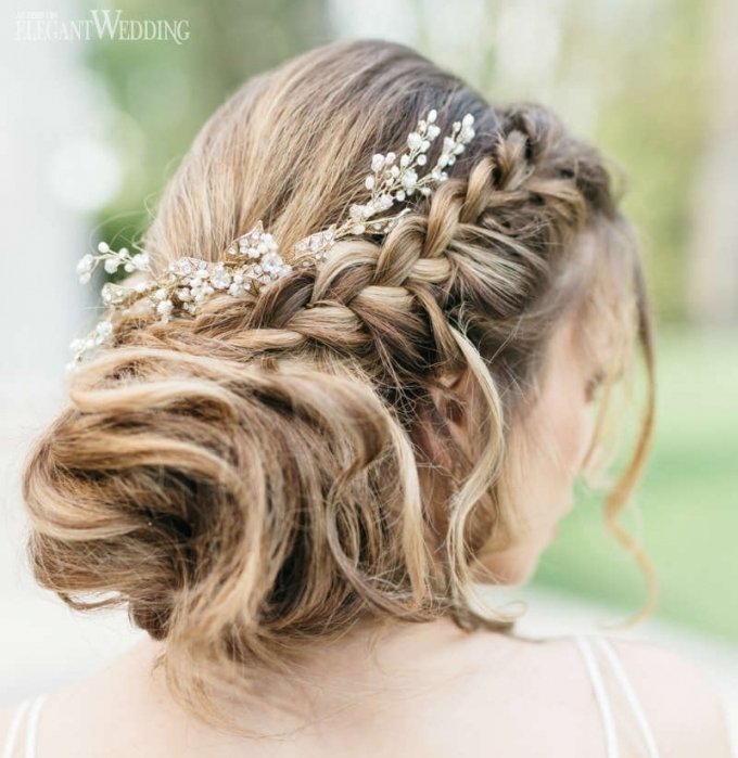 80 Gorgeous Wedding Hairstyles | Elegantwedding.ca Inside Elegant Wedding Hair