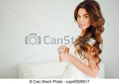 Beautiful Bride. Wedding Hairstyle And Make Up. Sexy. Pertaining To Sexy Wedding Hair